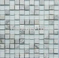 Bianco Carrara Marble Mosaic