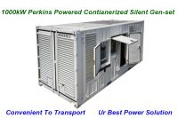 1000kw Perkins with Comler  Containerized Soundproof type Power Generator