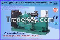 150KVA Open Type Cummins with Comler Diesel Gen-set