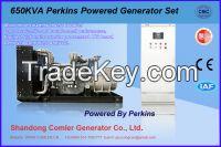 600KW Perkins Engine Powered Open type Genset