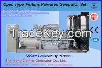 50HZ Three Phase Perkins Powered 1200kw Generator Set