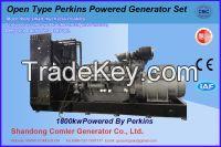1800KW (Prime use) Open Type Perkins with Comler Alternator Gen-set