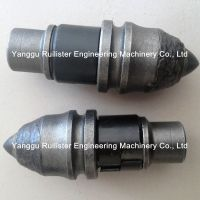 Round Shank Chisel Bits B47K22HF, Piling Tools, Foundation Drilling Tools, Conical Bits