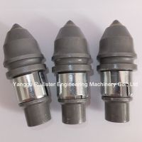 Foundation Drilling Tools B47K19H, Piling Tools, Construction Tools, Conical Bits, Bullet Teeth