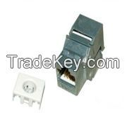 Cat.6A FTP Keystone Jack 180 degree