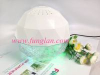 CE RoHS certificated water washing crystal USB air purifier