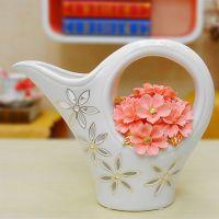 Porcelain Flower Porcelain flower Basket