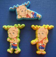 Soft PVC Fridge Magnets Rubber Fridge Magnets