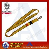 Top quality custom silkscreen lanyard printing China wholesale