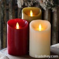 flameless led wax candle