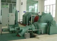 Water turbine generator and auxiliary equipment