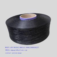 1100D POLYPROPYLENE  YARN BLACK RECYCLED