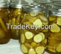 Best Quality Slice Pickled Cucumber