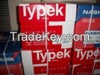 COPY PAPER TYPEK , A4 Copy Paper 80GSM Typek BRAND, Paper one copy paper