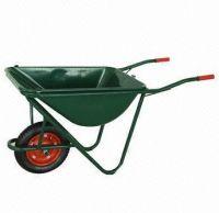 Powder coating tray wheel barrow