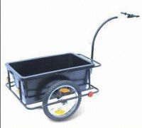 Bicycle Trailer with Plastic Tray