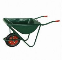 Powder coating  wheel barrow