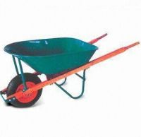 single  air wheel steel tray wheel barrow