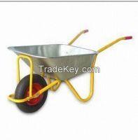 Galvanized tray wheelbarrow  WB5009