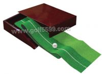 Sell ABS/Rosewood/Wooden Golf Putting Trainer with Mat