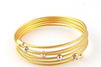 2014 hot new product adjustable wire bangle bracelet wholesale