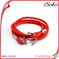 wholesale latest accessories fashion jewelry 2014 leather wrap bracele