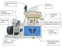 Biomass wood sawdust rice husk straw pellet machine best price