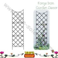 Metal Trellis for wall spiral plant