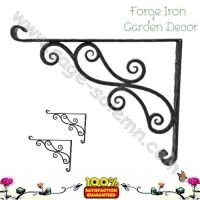 Iron Garden Shelf Bracket