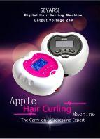 Mini Hair Curling Machine Digital Hair Perm Machine Apple Shape 24V output