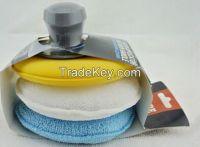 Microfiber Applicator Foam Applicator, wax applicator pad, 3 in 1 microfiber polish pad