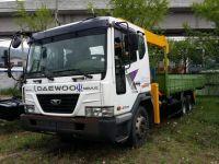 Truck mounted New crane Soosan SCS 736 L II