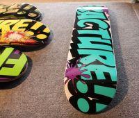 custom Canadian maple skateboard deck