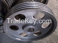 Clay Sand Casting Iron Belt Pulley for Metallurgical Mining Equipment