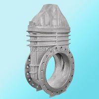 Precision Resin Sand Casting Iron Connection Parts for Metallurgy Equipment