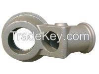 Sodium Precision Casting Front Baseplate for Metallurgical Mining Equipment