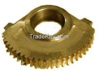 CNC Nonferrous Casting Parts Sand Casting Ratchet Wheel for Metallurgical Mining Equipment