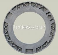 Clay Sand Casting Iron Dish of Wheel for Metallurgical Mining Equipment
