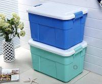 Wholesale durable multi purpose 5L-130L transparent stackable plastic box storage