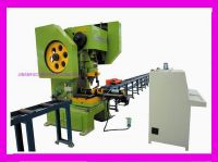 CNC Hydraulic/Mechanical Angle/Channel Punching Line Machine