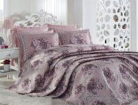 Jacquard King Size Bedspread - Oyku