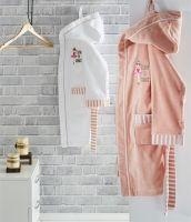 Organic Cotton/Bamboo Kids Bathrobe