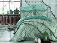 Jacquard and Fiber Filling King Size Bedspread - Angel