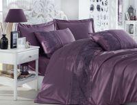 Cotton Satin King Size Duvet Cover Set- Isabel