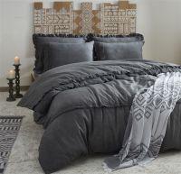 Organic Cotton King Size Duvet Cover Set - Valeria