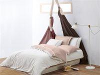 Organic Cotton Single Size Duvet Cover Set- Line