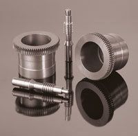 Worm Gears, milled or ground worm gears