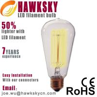 light up your life, grab your discount with led filament lamp.