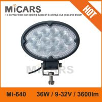 Made in China 7 inch 36w 3600lm LED work light