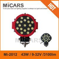 Hot sale new product 6inch 51w 3100lm LED work light